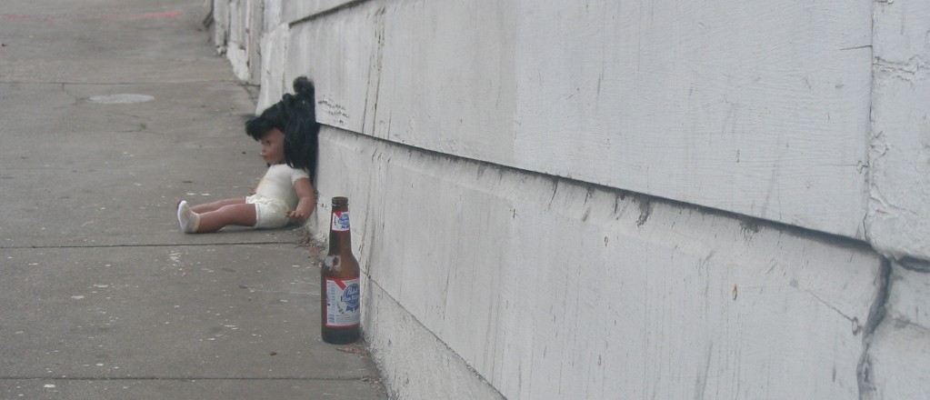 doll and beer