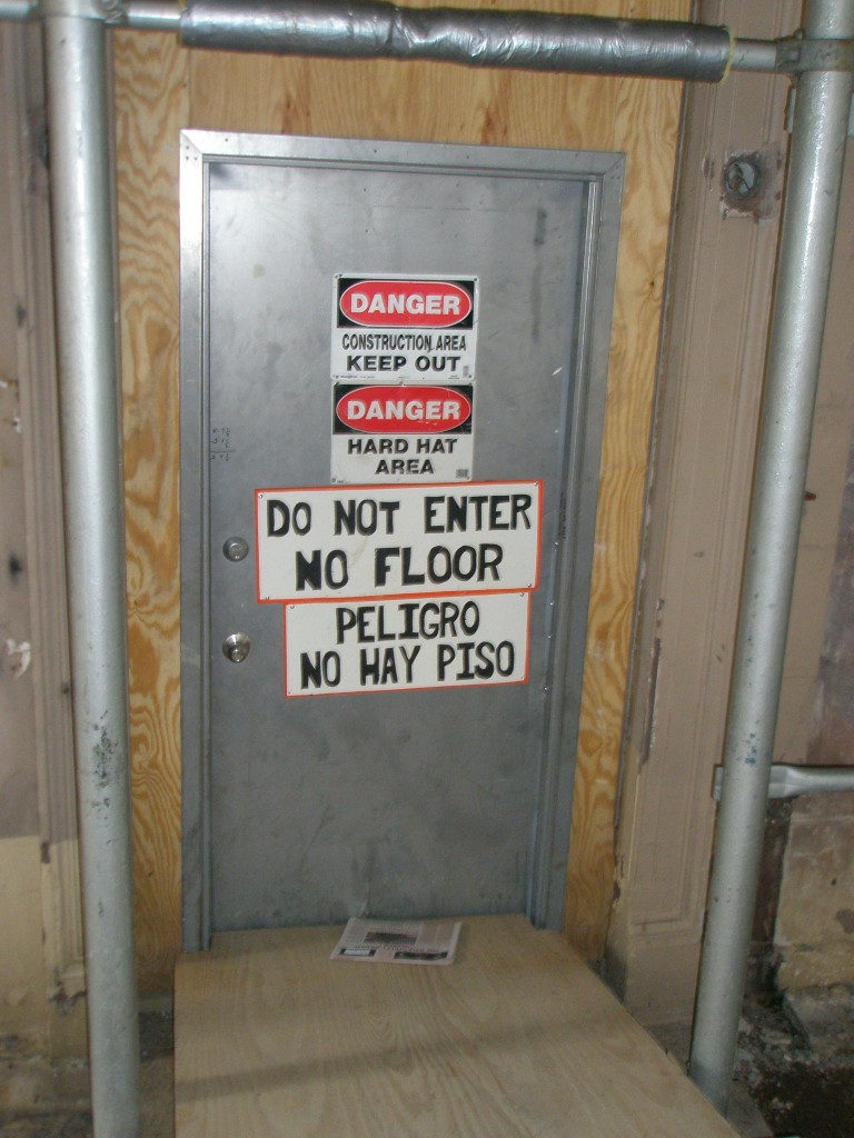 floor no paper yest